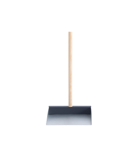 Dustpan and handle grey