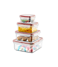 Set tuppers Rectangulares