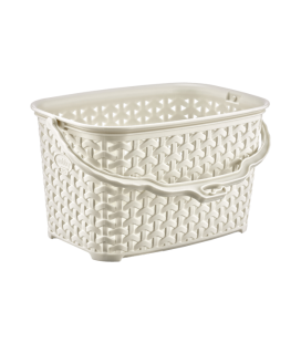 Basket rattan for clothes pegs
