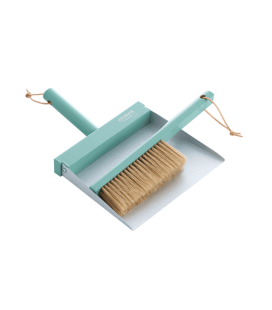 Brush and hand dustpan mint