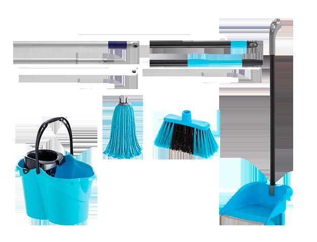 Kit de limpieza para espacios reducidos