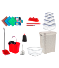Organization and cleanliness set