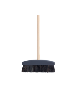 Wood broom grey