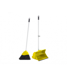 Foldable long handle dustpan  set + broom