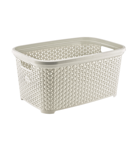 Rattan basket for clothes