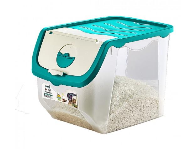Caja almacenaje alimentos transparente con tapa